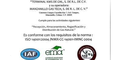 Certificaciones ISO 14001